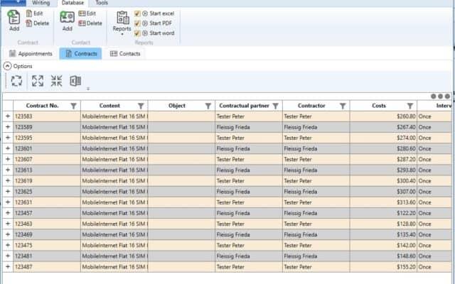 software development contract-management